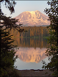 Romantic Mt. Adams