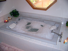 2-Person Jetted Spa Tub